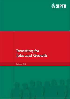 Investing for Jobs & Growth