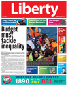 Liberty September cover